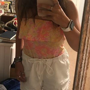 Lily Pulitzer Strapless top